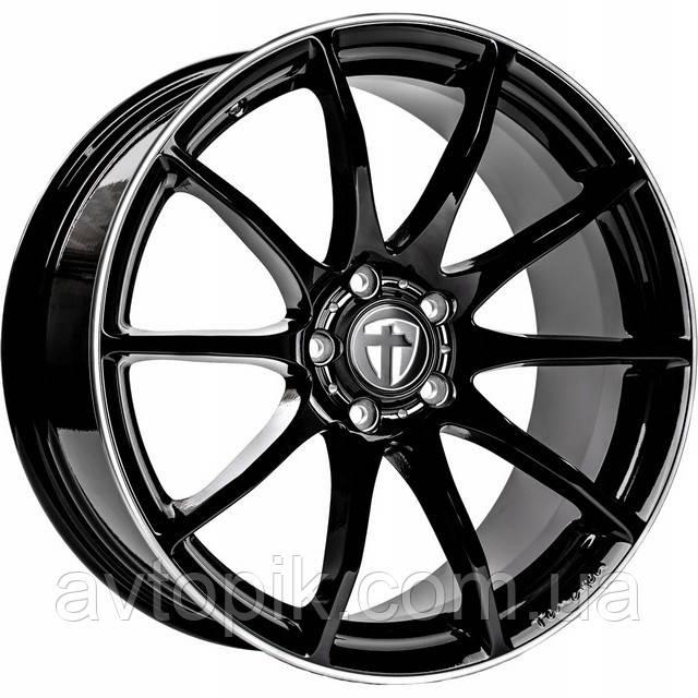 Литые диски Tomason TN1 R19 W8.5 PCD5x108 ET40 DIA72.6 (gloss black)