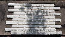 Форма селиконовая  для гипсового камня 3D панель кирпичи, фото 3
