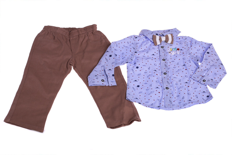 Сорочка+штани з метеликом