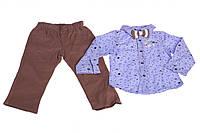 Сорочка+штани з метеликом, фото 1