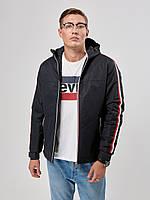 Мужская демисезонная куртка RiccardoТ1 XXL Синяя 3rc00354, КОД: 1289316