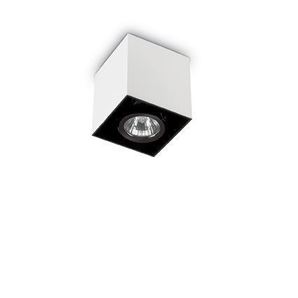 Точечный светильник Ideal Lux Mood PL1 Square Small Bianco (140902)