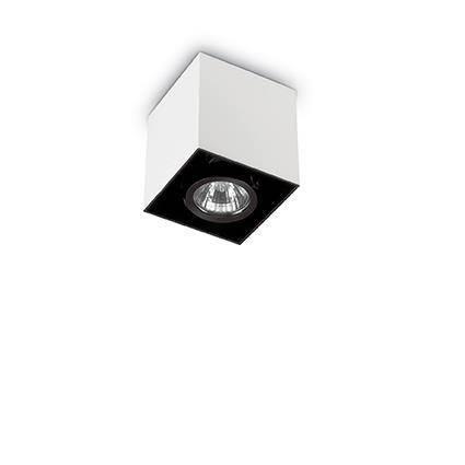 Точечный светильник Ideal Lux Mood PL1 Square Small Bianco (140902), фото 2