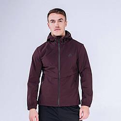 Куртка ветрозащитная мужская Peak Sport FW293027-RED 2XL Бордовый 6941123626187, КОД: 1345661