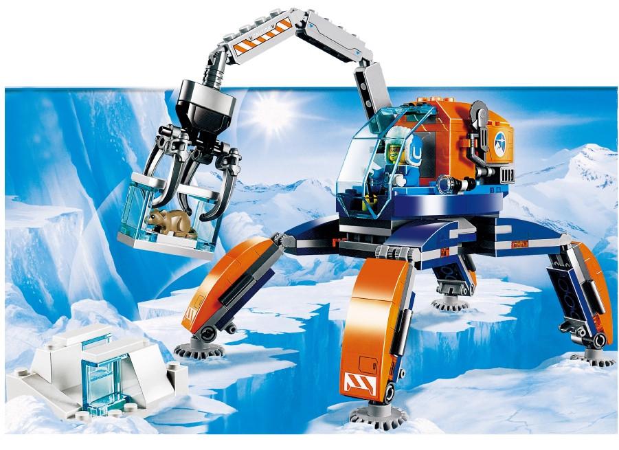 Конструктор Арктичний транспорт 224 деталей JVToy 24003 серія Прекрасний місто