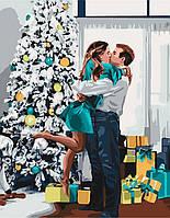 """Картина по номерам - """"Новогоднее настроение"""", ★★★★   ТМ Идейка"""
