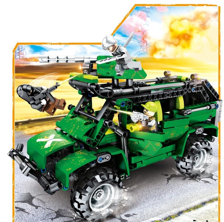 Конструктор Збройне протистояння 530 деталей JVToy 24007 серія Прекрасний місто