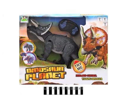 Динозавр на р/у, с музыкой и светом, RS6137B