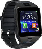 Смарт-часы Smart Watch UWatch DZ09 Black