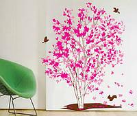 Декоративная  наклейка дерево  (88х70см)