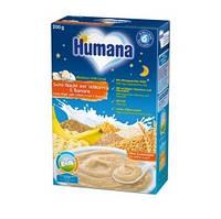 Молочная каша Humana цельнозерновая с бананом Сладкие сны, 200 г