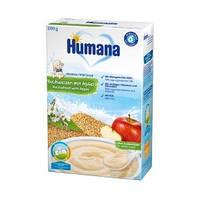 Молочная каша Humana Гречневая с яблоком, 200 г