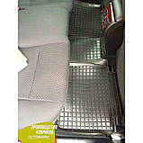 Резиновые коврики в салон Toyota Camry 50 тойота камри 50 2011- (Avto-Gumm) Автогум гумові килимки, фото 8