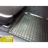 Резиновые коврики в салон Toyota Camry 50 тойота камри 50 2011- (Avto-Gumm) Автогум гумові килимки, фото 10