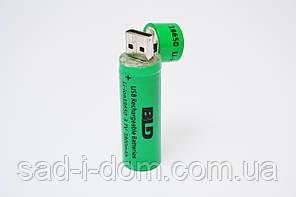 Аккумуляторная батарея аккумулятор BLD 18650 3800 mAh 3.7V c USB