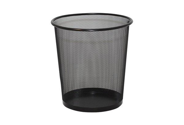 Ведро для мусора, металлическое, сетка, 26*25см, DX-5003