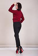Свитер женский вязанный с узором Турция, фото 7