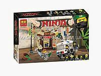 Конструктор Ninjago «Погоня в городе» Bela (Ниндзяго), фото 1
