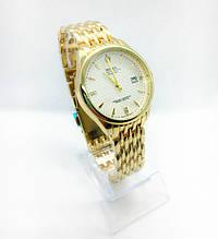 Женские наручные часы Rolex (Ролекс), золото с белым циферблатом
