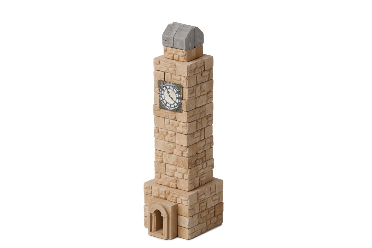 Башня с часами мини | Конструктор из мини-кирпичиков | 80 деталей | Країна замків та фортець