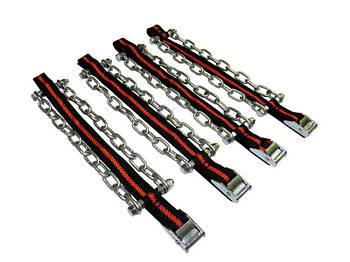 """Цепи """"сектор"""" размер L (R13-R15) длина цепи 23см 4шт+перчатки+сумка (кт.)"""
