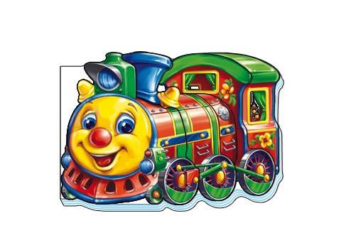 """Книжка Ранок """"Кумедні машинки: Поезд Н.И.К."""", 19.9, М324012Р/М15482Р"""