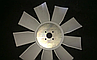 238Н-1308012 Крыльчатка вентилятора ЯМЗ 238Н, 238, 236 (9 лопастей) пластик (пр-во Украина), фото 2