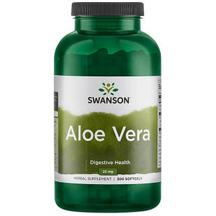 Swanson Aloe Vera 200:1 концентрат 25 мг 300 ЖК