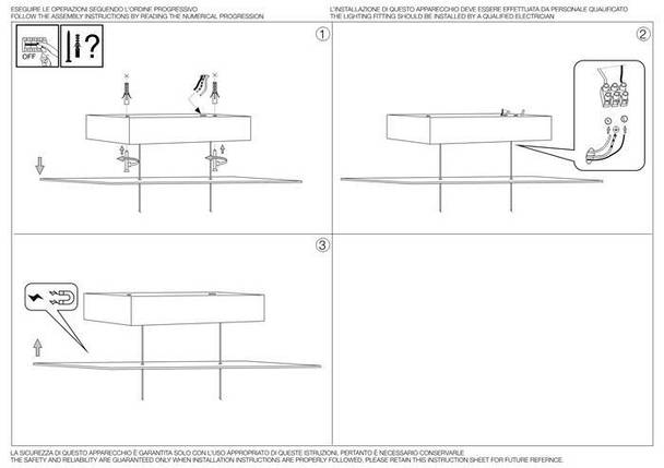 Светодиодная люстра Led Ideal Lux Desk SP1 (138237), фото 2