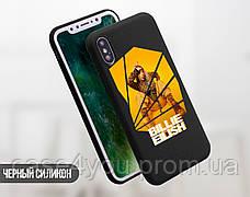 Силиконовый чехол для Apple Iphone Se Билли Айлиш (Billie Eilish) (4006-3388), фото 3