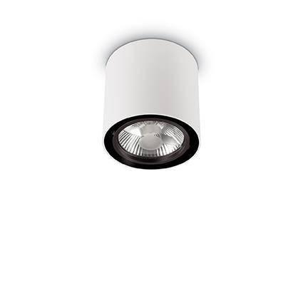 Точечный светильник Ideal Lux Mood PL1 Round Big Bianco (140872), фото 2