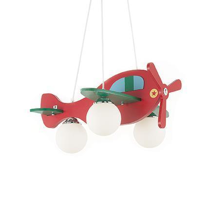 Подвесной светильник Ideal Lux Avion 2 SP3 Rosso Verde (136318)