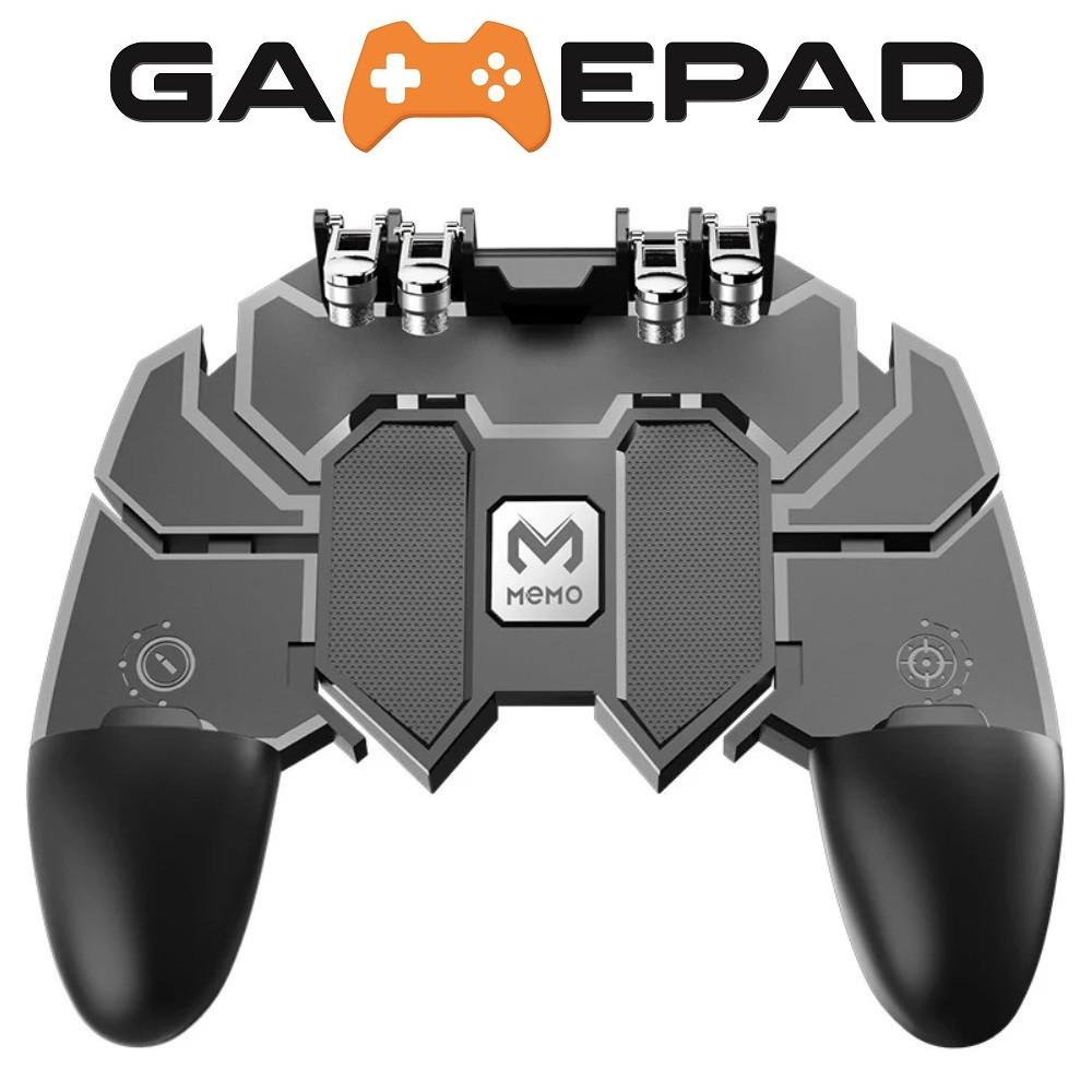 Беспроводной геймпад джойстик для телефона PUBG Mobile MOME AK-66 для игры в 6 пальцев Fortnite, Coll of Duty