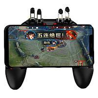 Беспроводной геймпад джойстик для телефона PUBG Mobile MOME AK-66 для игры в 6 пальцев Fortnite, Coll of Duty, фото 4