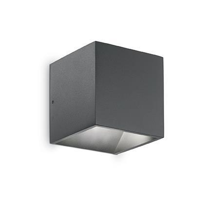 Настенный светильник Ideal Lux Rubik AP1 Antracite (149738)