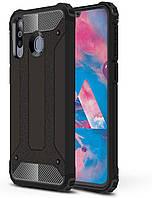 Чехол Guard для Samsung Galaxy A40s / A3050 бронированный бампер Immortal Black