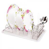 Настольная сушилка для посуды сушка Stenson MH-0852 38 х 25 х 9.2 см