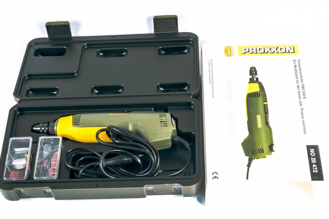 Высокоточная бормашина Proxxon FBS 240/E (28472)