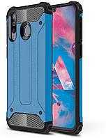 Чехол Guard для Samsung Galaxy A40s / A3050 бронированный бампер Immortal Blue
