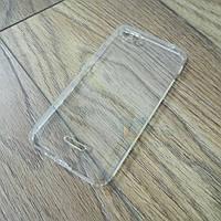 Силиконовый чехол KST для Xiaomi Redmi 6A с защитой от пыли и ударов. Прозрачный, фото 1