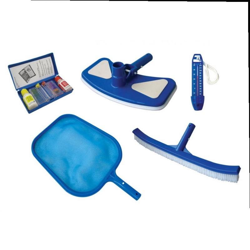 Уборочный комплект для бассейна Kokido Classic K112CS Щетка сачек щетка для пылесоса тестер воды