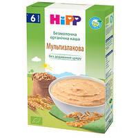 HiPP Детская безмолочная органическая каша «Мультизлаковая», 200г