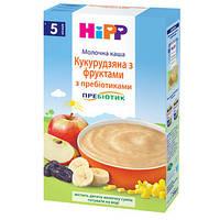 """HiPP Детская молочная каша """"Кукурузная с фруктами"""" с пребиотиками, 250г"""