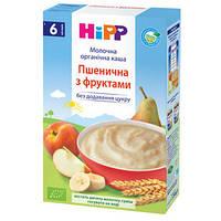 HiPP Детская молочная органическая каша «Пшеничная с фруктами», 250 г