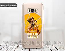 Силиконовый чехол для Xiaomi Redmi 4X Билли Айлиш (Billie Eilish) (31037-3388), фото 2