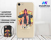 Силиконовый чехол для Apple Iphone 8 plus Билли Айлиш (Billie Eilish) (4023-3389)