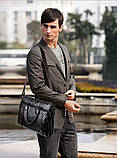Сумка-портфель Polo формата А4 сумка для документов, ноутбука, фото 6