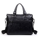 Сумка-портфель Polo формата А4 сумка для документов, ноутбука, фото 7