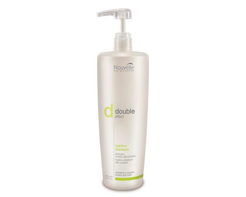 Nouvelle Nutritive Shampoo Оживляющий кератиновый шампунь, 1000 мл