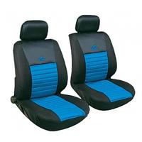 Чехлы авто сидений передние черно-голубые Tango Milex Польша